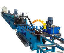 Seismic support forming equipment